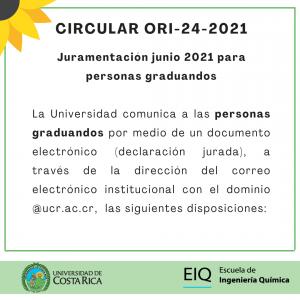 Circular ORI-34-2021