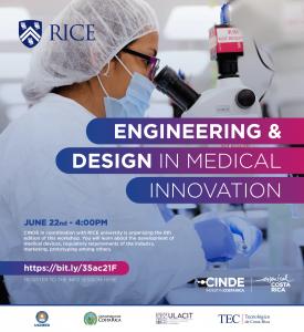 Invitación al Medical Innovation Bootcamp