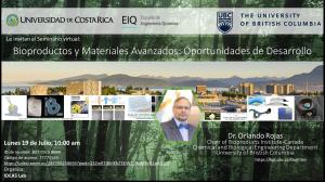 Invitación a Seminario   Bioproductos y Materiales Avanzados