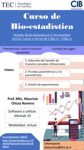 Curso bio-estadística